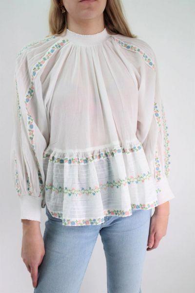 Bilde av TiMo Cotton Embroidery Top