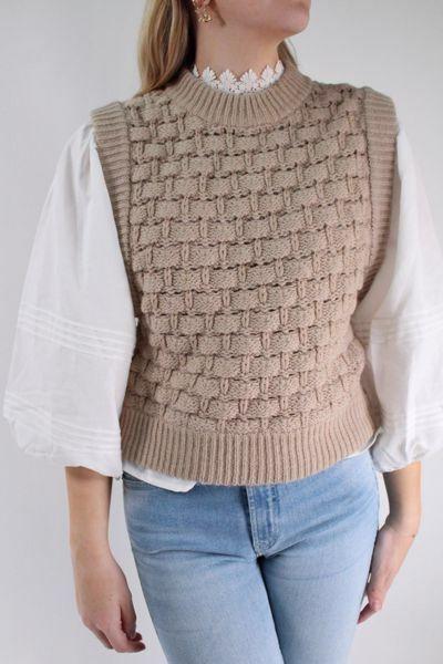 Bilde av TiMo Cotton Knit Vest