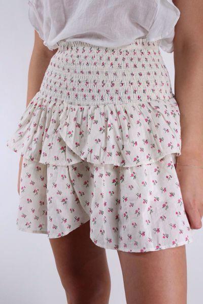 Bilde av Neo Noir Carin Sugar Flower Skirt