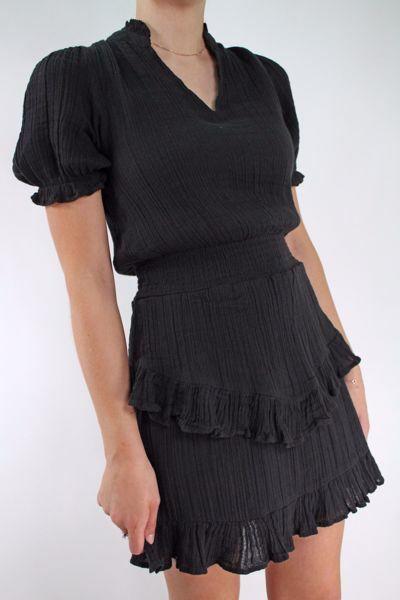 Bilde av Neo Noir Dunham Gauze Dress