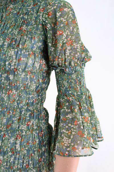 Bilde av TiMo Georgette Smocking Dress